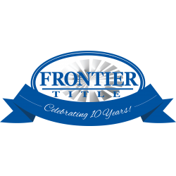 Frontier 10 Year Logo